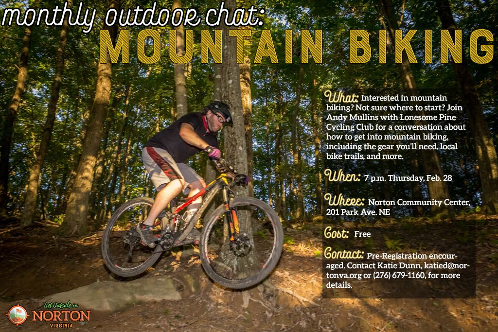 Photo of mountain biker