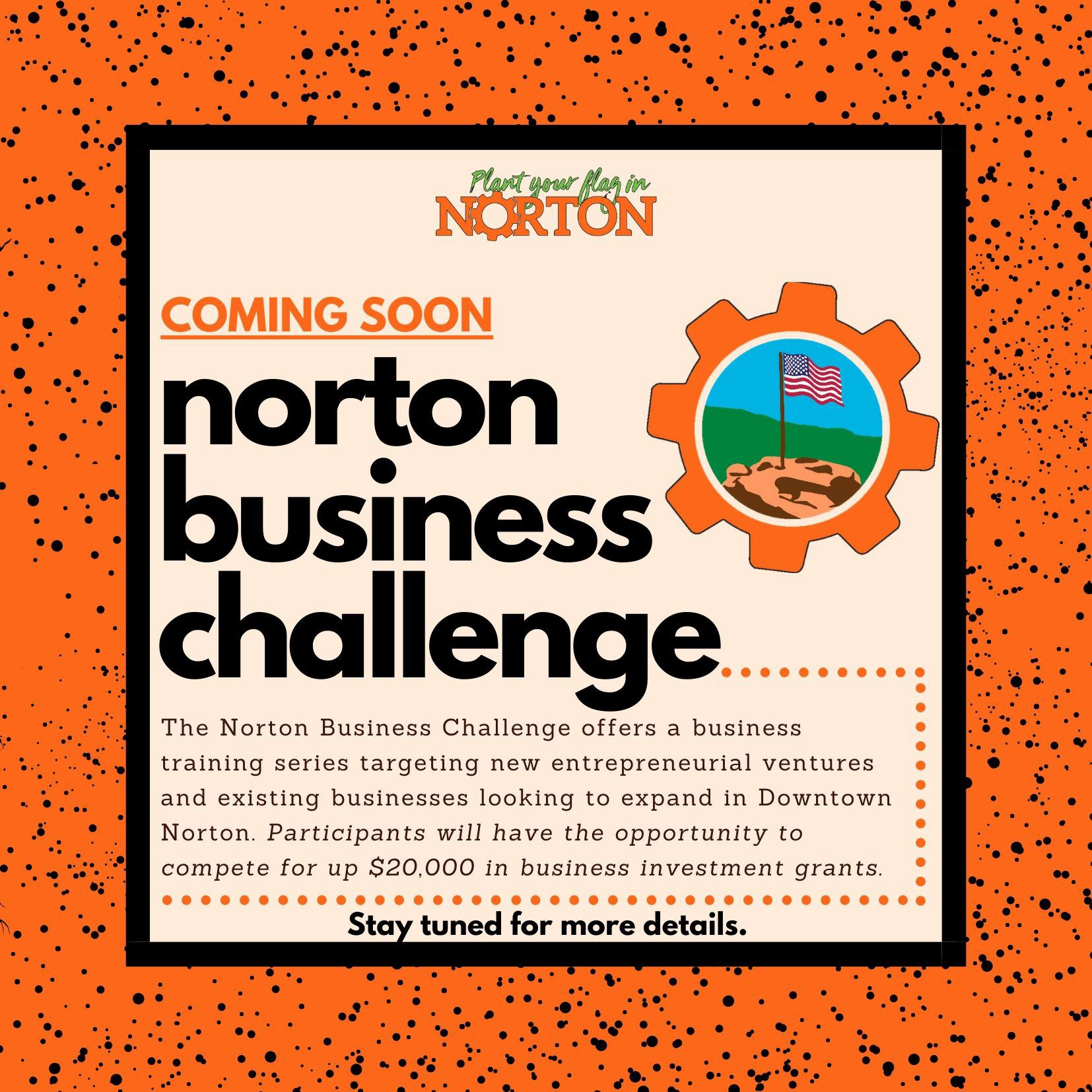 Norton Business Challenge Teaser Flyer