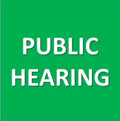 Public Hearing Graphic