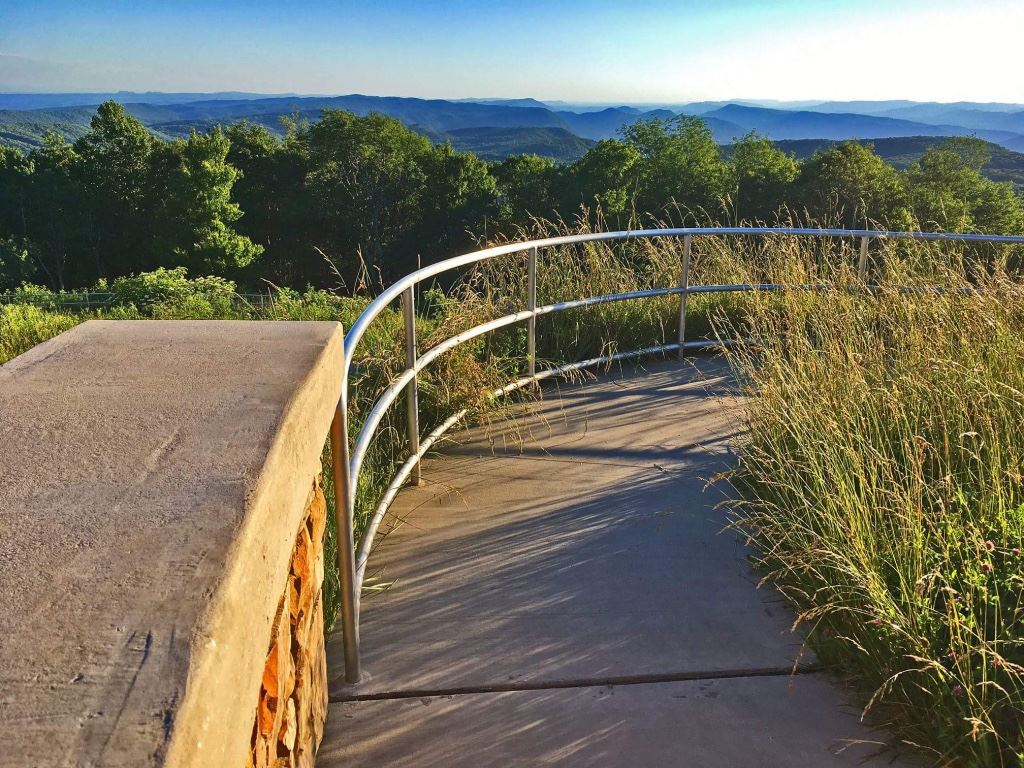 Photo of High Knob Observation Tower walkway