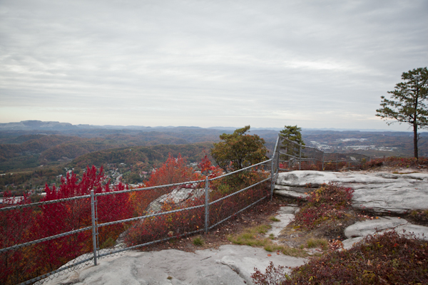 View from Flag Rock Overlook