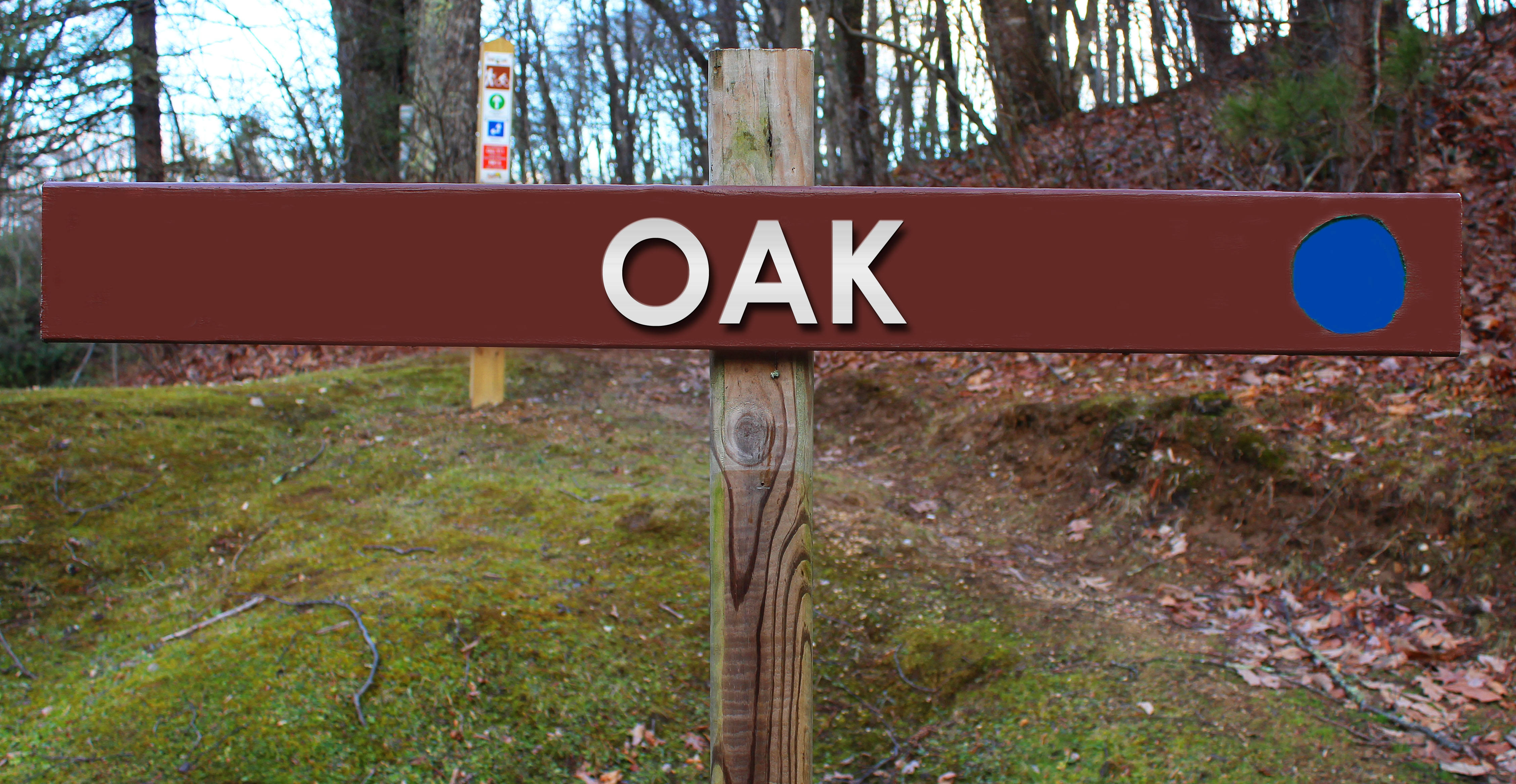 Picture of Oak trail sign
