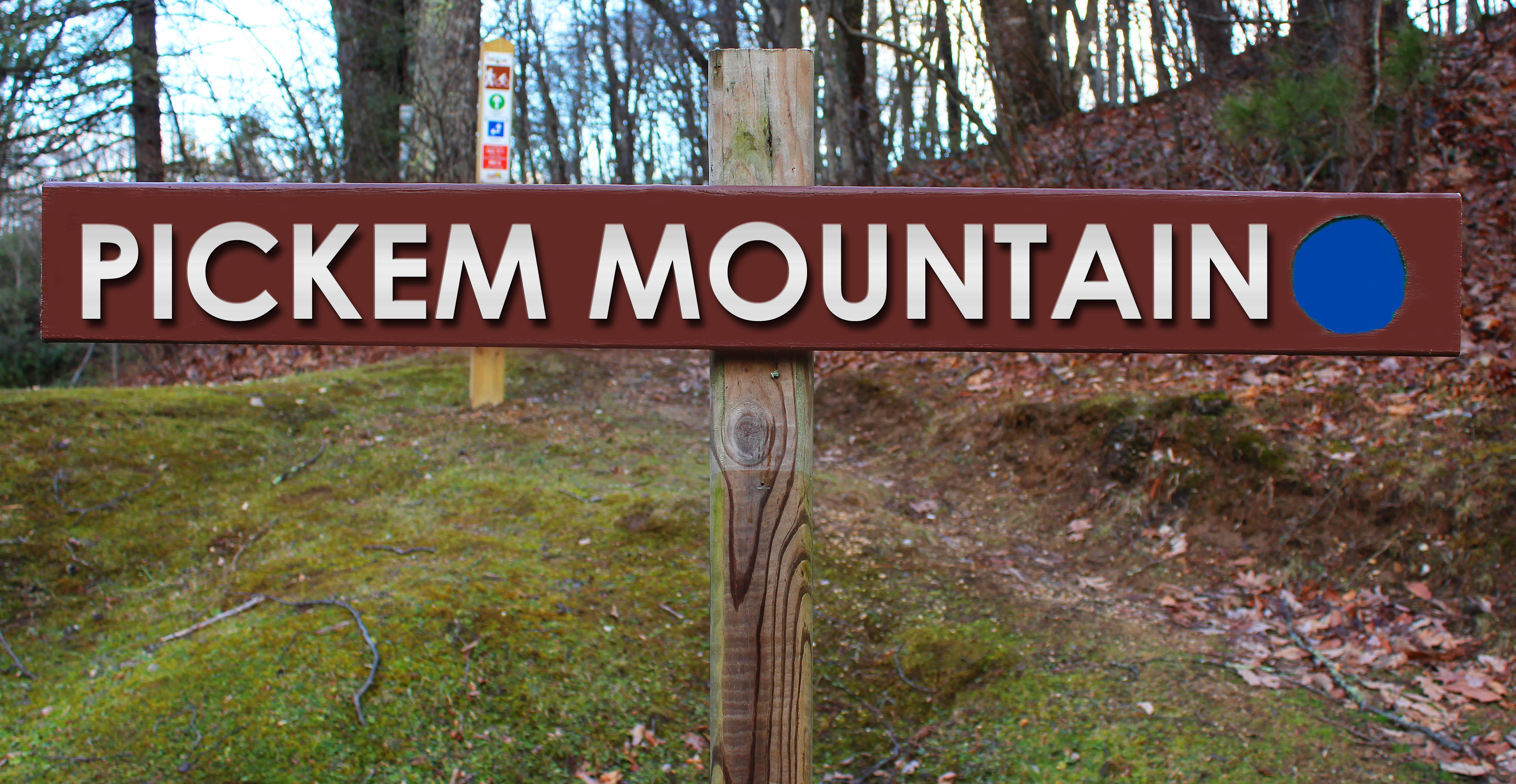 Picture of Pickem Mountain trail sign